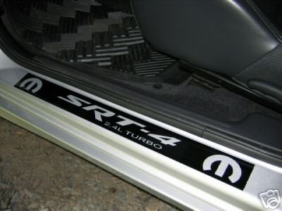 Dodge neon SRT-4 door sill decals