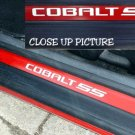 Chevy Chevrolet Cobalt SS door sill vinyl decal decals