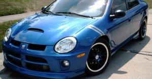 SRT-4 neon sxt fender stripe racing decals decal boost turbo