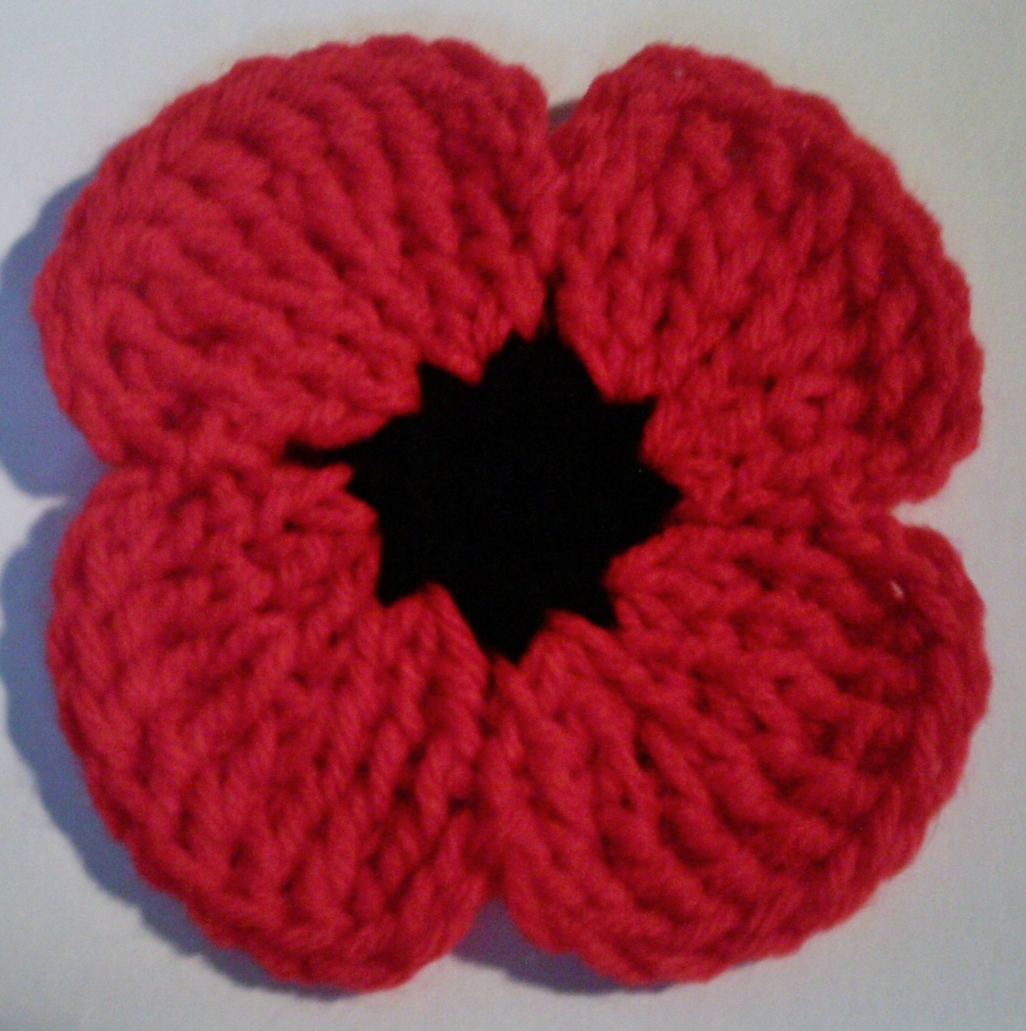 Free easy crochet poppy pattern manet for poppy coasters hot pads crochet patterns pdf file 403 bankloansurffo Image collections