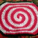 Crochet Pattern e PDF File for X-Large Candy Swirl Hot Pad