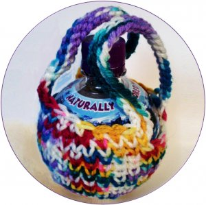 Crochet Pattern e PDF file for 12 oz. Ball Bottle Cozy  #20