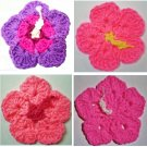 Hibiscus Flower & Leaf Coaster & Hot Pad #404e Crochet Patterns PDF file