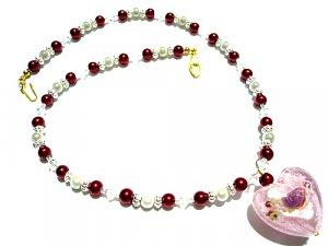 Arden Lampwork Necklace