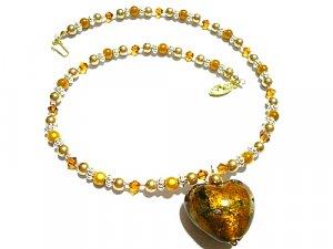 Ashlin Lampwork Necklace