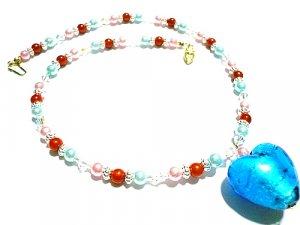 Asmara Lampwork Necklace