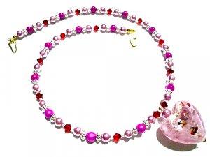 Atarah Lampwork Necklace