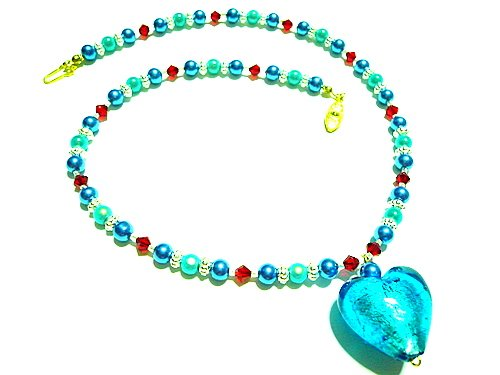 Aubrey Lampwork Necklace