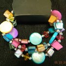 Multicolor stretchy bracelet