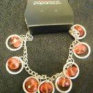 Red & silver bracelet