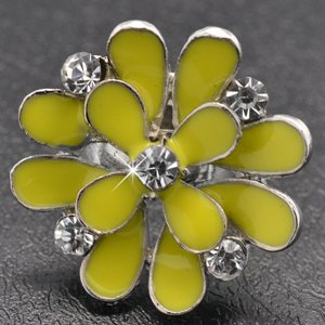 Yellow flower ring!