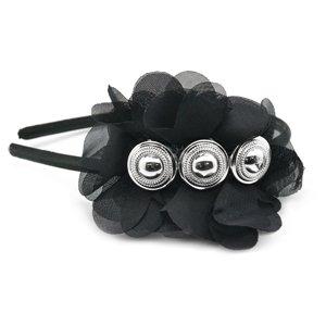 Black & silver headband
