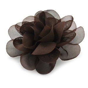 brown hair clip