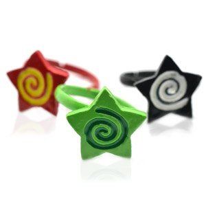 One child's Star swirly ring - choose color