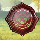 Fire & Rescue - Red Starlight Half Pint Wind Spinner - #53461