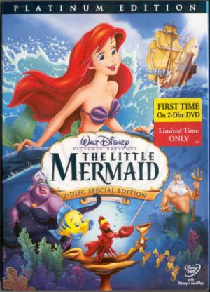 Brand NEW Little Mermaid DVD BOX SET ships 1st class SAME DAY!