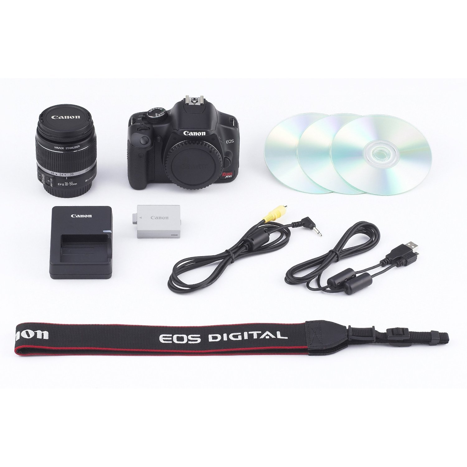 Canon Digital SLR Rebel XSi (Body) + 18-55 EF-S IS Lens