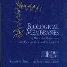 Biological Membranes: A Molecular Perspective from Computation and Experiment