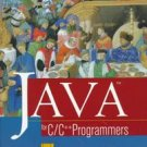 Java for C/C++ Programmers