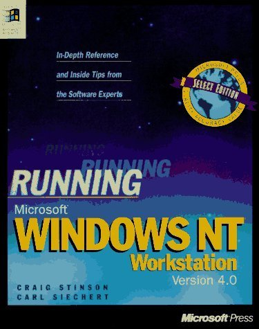 Running Microsoft Windows Nt Workstation: Version 4.0