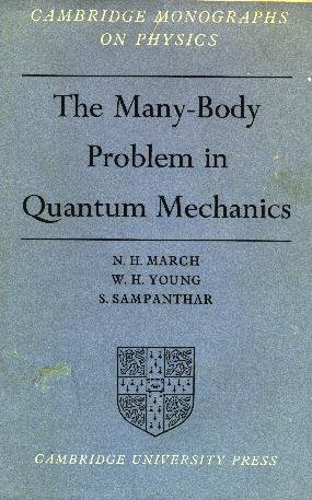 The Many-Body Problem in Quantum Mechanics