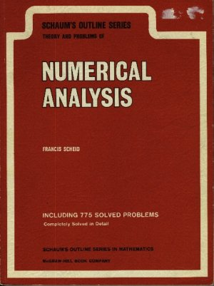 Theory and Problems of Numerical Analysis