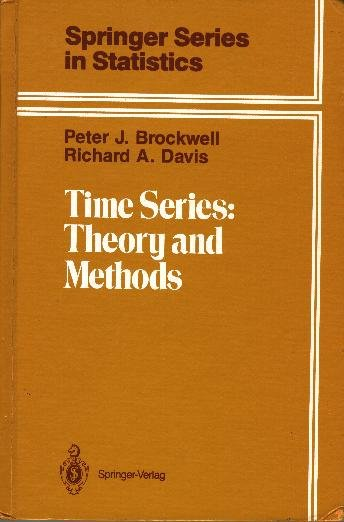 Time Series: Theory and Mehtods