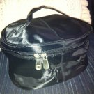 2 NEW Black Makeup bag Train Case Cosmetic tote Handled Zippered 2
