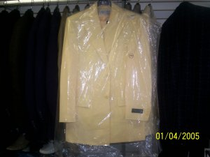 Canary Yellow Il Canto 3 peice Suit