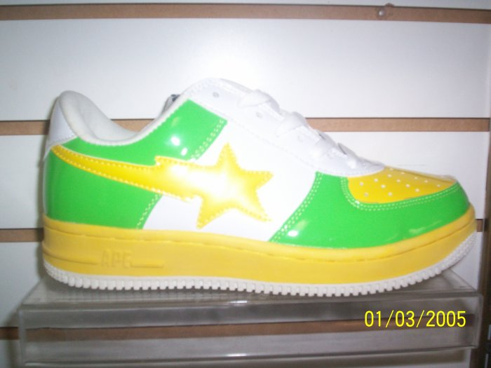 Lime & Yellow Bapes