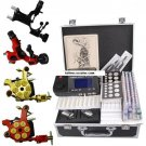 Professional Stater Tattoo kits 4 machine 54 colors inks with tattoo supplies Free shipping