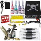 Mini tattoo start kit 1 tattoo machine power supply ink grips