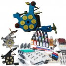 Top Quality professional Tattoo Kits With 3 bullet Tattoo machines And Superior Mini Power Supply
