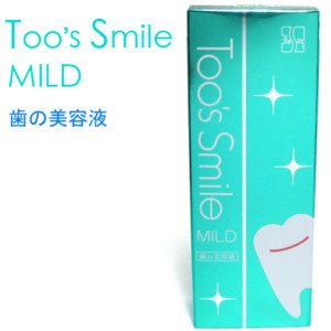 TOO'S SMILE NATURAL HONEYSUCKLE TEETH LIQUID WHITENING