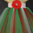 HOLLY JOLLY | youth girls tutu dress [knee length]