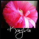 KAYLA | TODDLER girls BOWS 'n BLING tutu