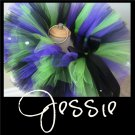 JESSIE | TODDLER girls BOWS 'n BLING tutu