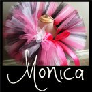 MONICA | TODDLER girls BOWS 'n BLING tutu