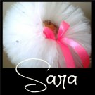 SARA | TODDLER girls BOWS 'n BLING tutu