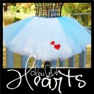 DOUBLE HEARTS | TODDLER girls BOWS 'n BLING tutu