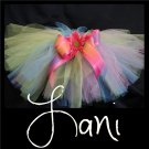 LANI | TODDLER girls BOWS 'n BLING tutu