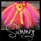 SUMMER BREEZE | TODDLER girls BOWS 'n BLING tutu