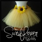 SUNFLOWER FIELDS | TODDLER girls BOWS 'n BLING tutu