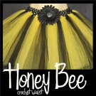 HONEY BEE | toddler girls tutu w crochet waist