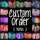 CUSTOM ORDER -you choose design- | baby girls tutu