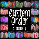 CUSTOM ORDER -you choose design- | toddler girls tutu