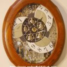 Nostalgia Oak Legend Rhythm Clock - 18 Tunes - Musical