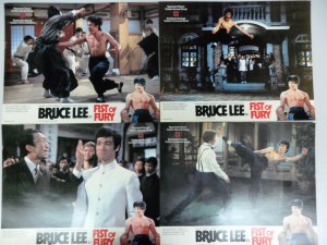 Bruce Lee Fist of Fury Lobby Cards Golden Harvest