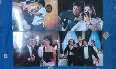 Jackie Chan, Sammo Hung, Yuen Biao - Winners and Sinners ������� Lobby Cards