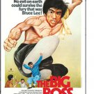 Bruce Lee The Big Boss Poster
